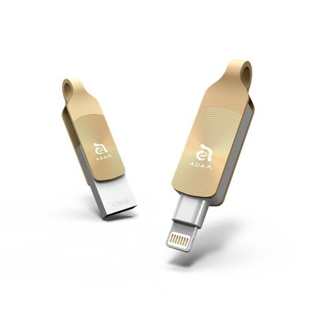 Adam Elements iFlashDrive 32GB iKlips DUO+ pre iPhone/iPad - Gold