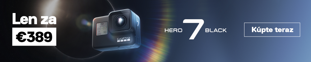 Akcia GoPro HERO 7 Black