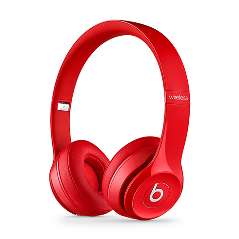 Apple Beats Solo®2.0 Wireless - Red slúchadlá