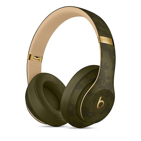 Apple Beats Studio3 Wireless Headphones - Beats Camo Collection - Forest Green slúchadlá
