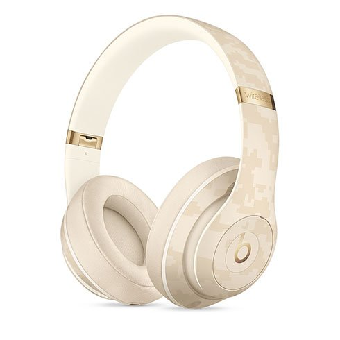 Apple Beats Studio3 Wireless Headphones - Beats Camo Collection - Sand Dune slúchadlá