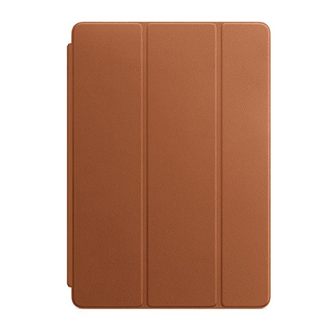 Apple iPad Leather Smart Cover for iPad (7th generation) and iPad Air (3rd generation) - Saddle Brown