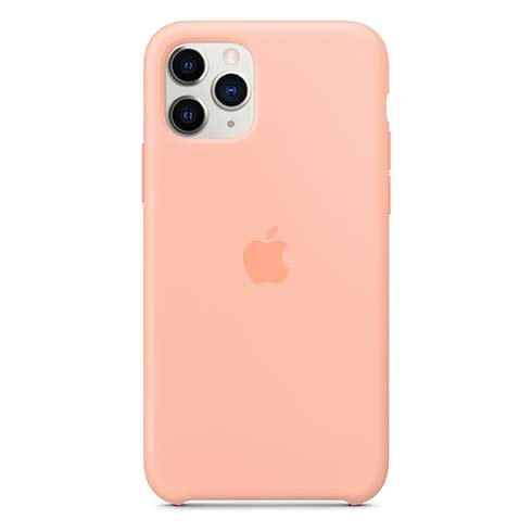 Apple iPhone 11 Pro Silicone Case - Grapefruit