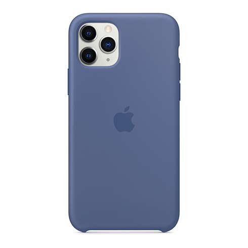 Apple iPhone 11 Pro Silicone Case - Linen Blue