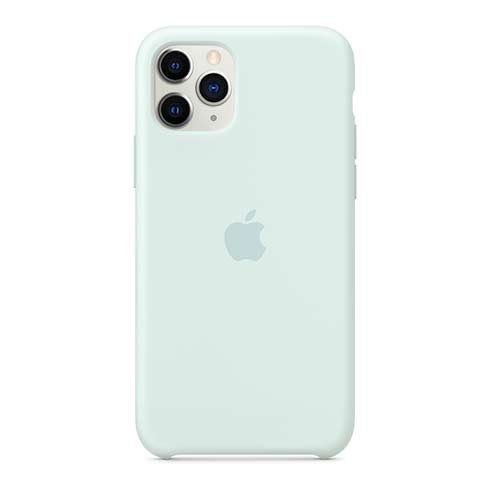 Apple iPhone 11 Pro Silicone Case - Seafoam