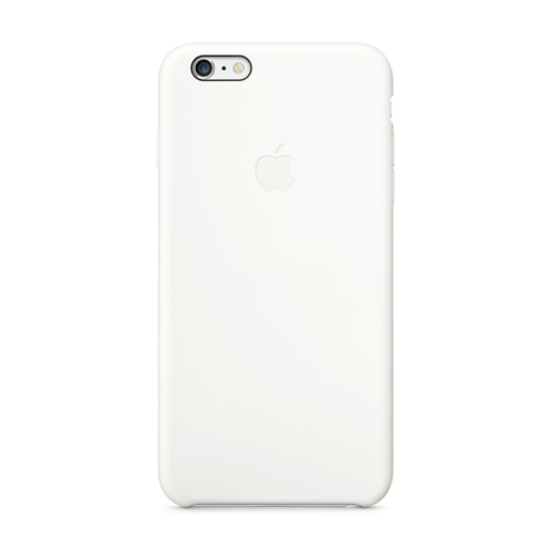 Apple iPhone 6 Plus Silicone Case White