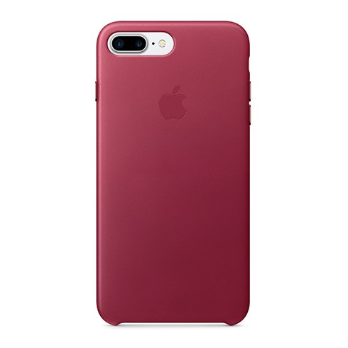 Apple iPhone 7 / 8 Plus Leather Case - Berry
