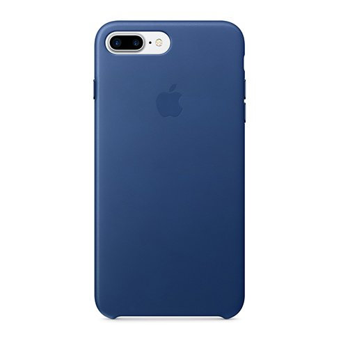Apple iPhone 7 / 8 Plus Leather Case - Sapphire