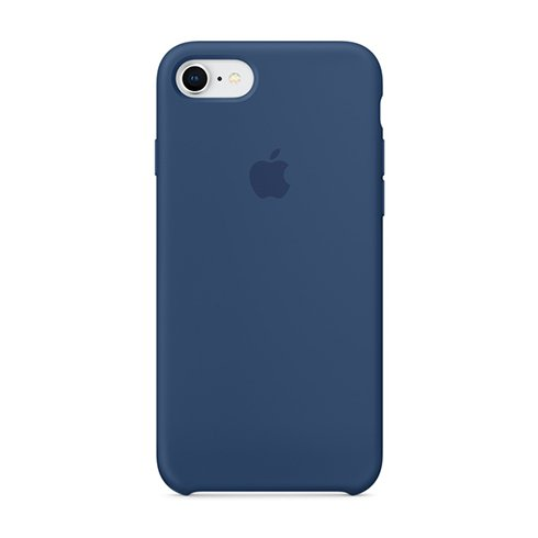 Apple iPhone 8 / 7 Silicone Case - Blue Cobalt