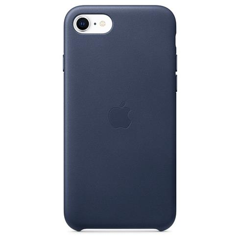 Apple iPhone SE/8/7 Leather Case - Midnight Blue
