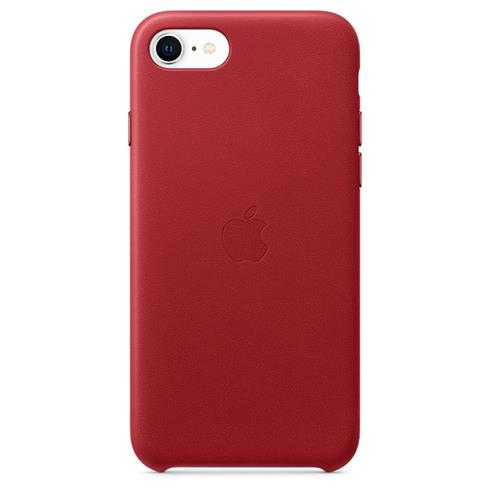 Apple iPhone SE/8/7 Leather Case - (PRODUCT)RED