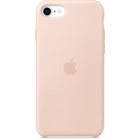 Apple iPhone SE/8/7 Silicone Case - Pink Sand