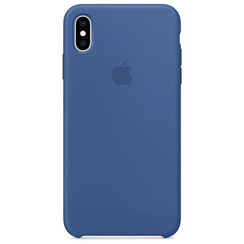 Apple iPhone XS Max Silicone Case - Delft Blue