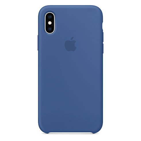 Apple iPhone XS Silicone Case - Delft Blue