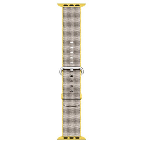 Apple Watch 38mm Yellow/Light Grey Woven Nylon (eko-balenie) Rozbalený