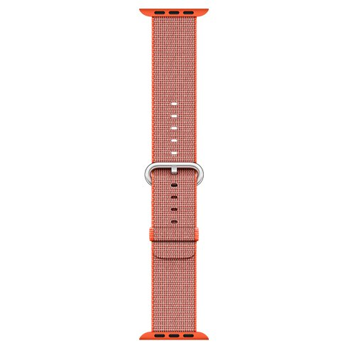 Apple Watch 42mm Space Orange/Anthracite Woven Nylon