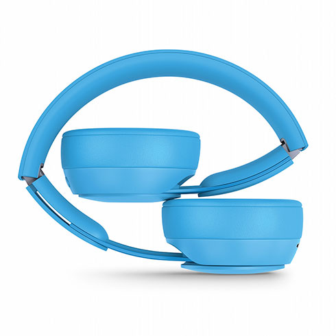 Beats Solo Pro Wireless Noise Cancelling Headphones - More Matte Collection - Light Blue slúchadlá