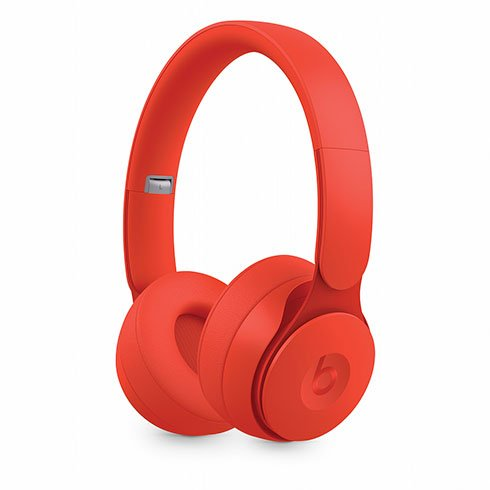 Beats Solo Pro Wireless Noise Cancelling Headphones - More Matte Collection - Red slúchadlá
