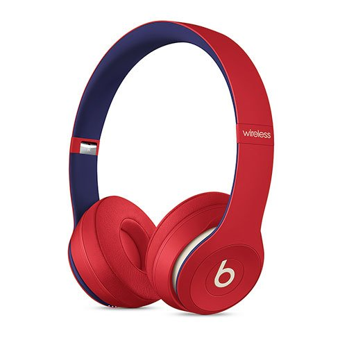 Beats Solo3 Wireless Headphones – Beats Club Collection – Club Red slúchadlá