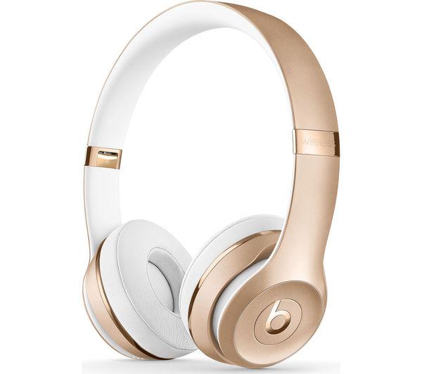 0d38f9bce Beats Solo3 Wireless On-Ear Headphones - Gold slúchadlá   iStores ...