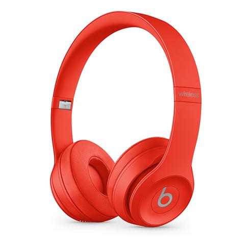 Beats Solo3 Wireless On-Ear Headphones - Icon Collection –Red