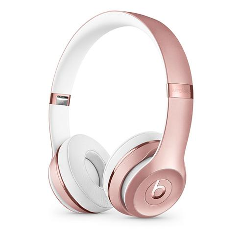 Beats Solo3 Wireless On-Ear Headphones - Icon Collection – Rose Gold