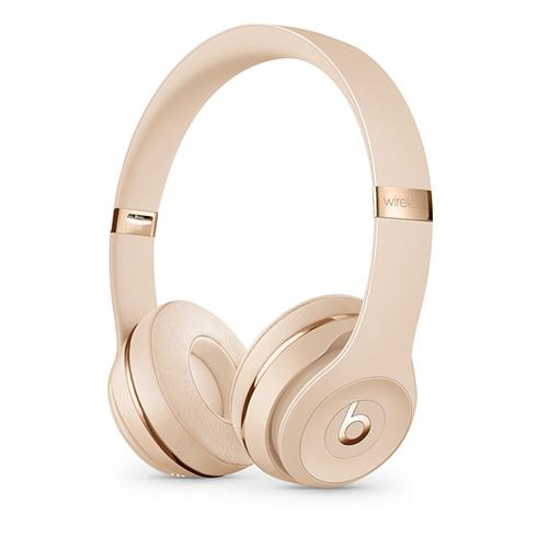 Beats Solo3 Wireless On-Ear Headphones - Icon Collection –Satin Gold