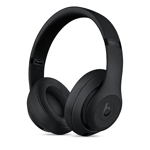 Beats Studio3 Wireless Over-Ear Headphones - Matte Black slúchadlá
