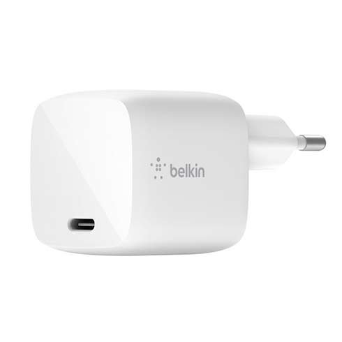 Belkin Boost Charge 30W USB-C GaN Wall Charger - White