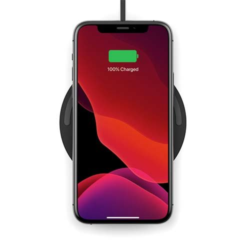 Belkin Boost Charge Wireless Charging Pad 10W + QC 3.0 charger - Black