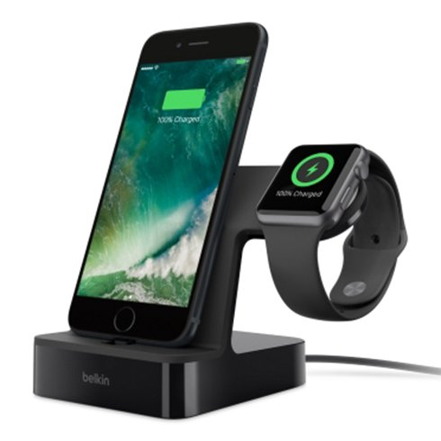 Belkin PowerHouse Charge Dock pre Apple Watch/iPhone - Black