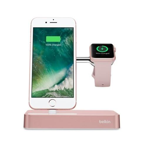 Belkin Valet Charge Dock pre Apple Watch/iPhone - Rose Gold