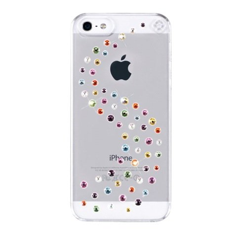 Bling My Thing puzdro Milky Way for iPhone 5/5S - Cotton Candy
