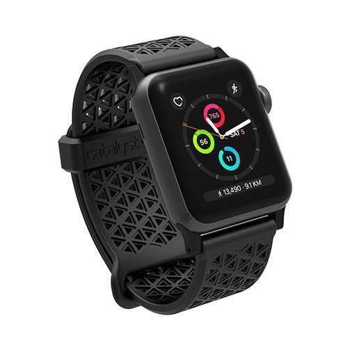 Catalyst náramok Sport Band pre Apple Watch 38/40 mm - Stealth Black