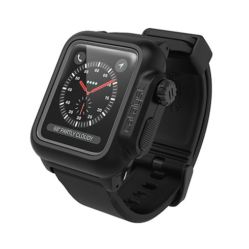 Catalyst puzdro Waterproof case pre Apple Watch Series 3 42mm - Stealth Black