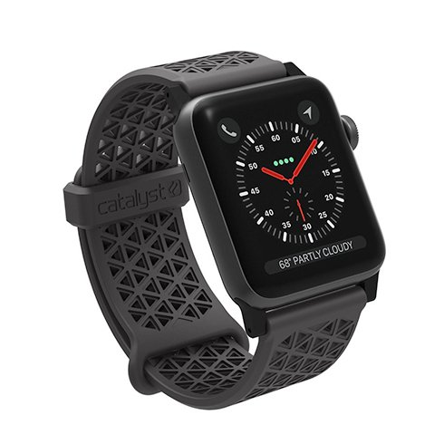 Catalyst remienok Sport Band pre Apple Watch 42/44 mm - Space Gray