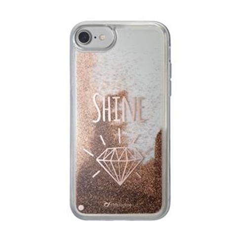 CellularLine gelove puzdro Stardust pre Apple iPhone 8/7/6S/6, motív Shine