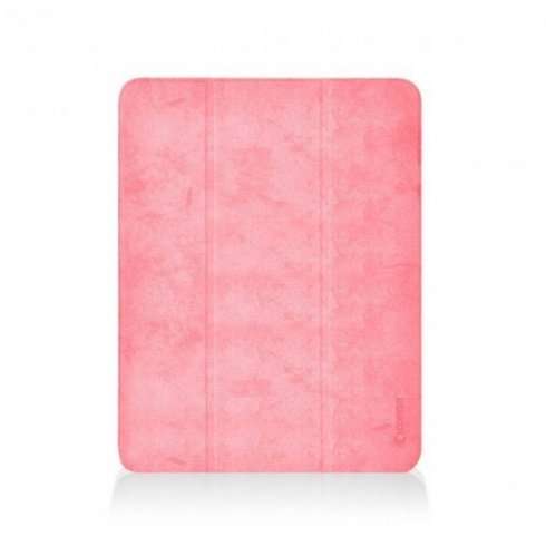 Comma puzdro Leather Case with Pencil Slot pre iPad mini 5 gen. (2019) - Pink