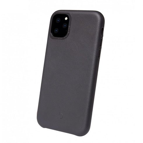 Decoded kryt Leather Backcover pre iPhone 11 Pro - Black