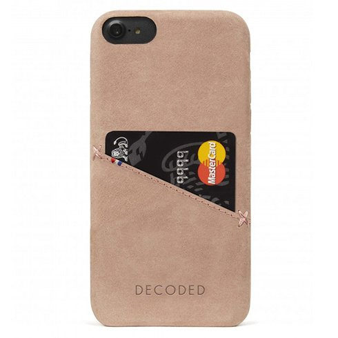 Decoded kryt Leather Case pre iPhone 6/7/8/SE 2020 - Rose