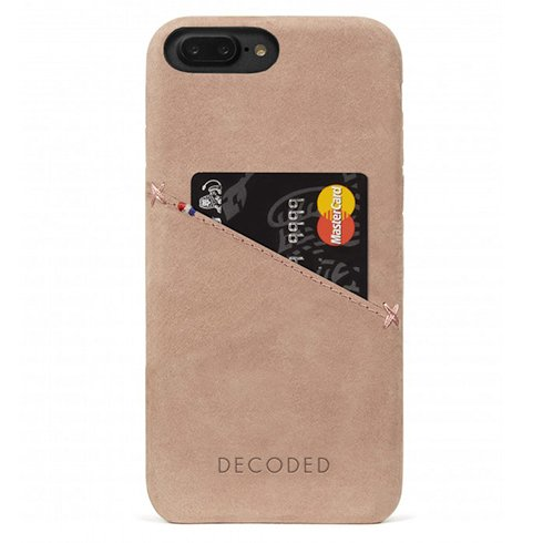 Decoded kryt Leather Case pre iPhone 8 Plus/7 Plus/6s Plus - Rose
