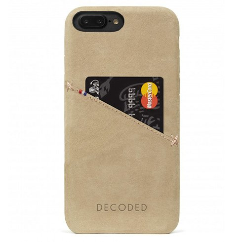 Decoded kryt Leather Case pre iPhone 8 Plus/7 Plus/6s Plus - Sahara