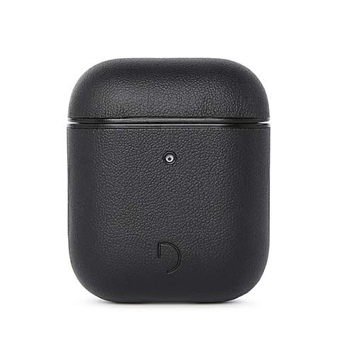Decoded puzdro AirCase 2 pre Apple Airpods 1&2 - Black