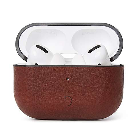 Decoded puzdro AirCase pre Apple Airpods Pro - Brown