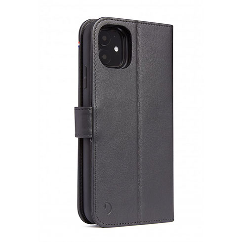 Decoded puzdro Leather Detachable Wallet pre iPhone 11 - Black