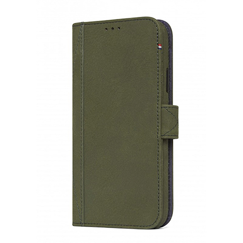 new arrival 49b5f 40299 Decoded puzdro Leather Detachable Wallet pre iPhone XS/X - Green ...