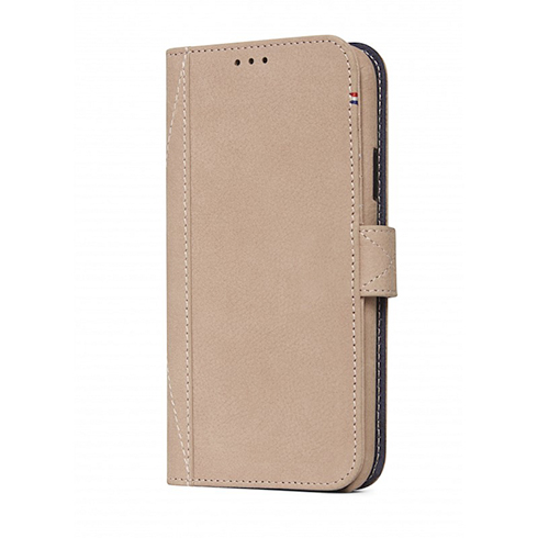 Decoded puzdro Leather Detachable Wallet pre iPhone XS/X - Naturel