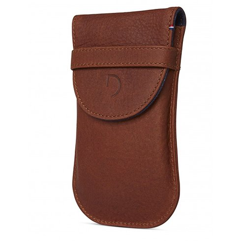 Decoded puzdro Leather Pouch pre Apple Magic Mouse - Brown