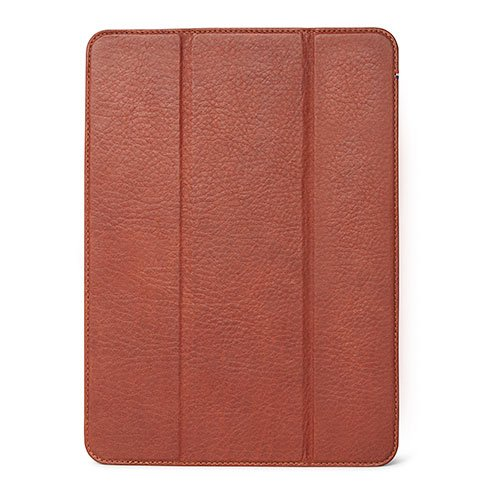 "Decoded puzdro Leather Slim Cover pre iPad Pro 11"" 2018 - Brown"