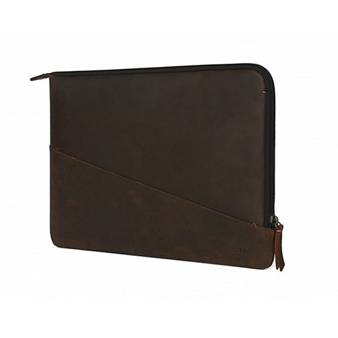 "Decoded puzdro Leather Slim pre MacBook Pro 13"" 2016-2018/Air 13"" 2018 - Brown"